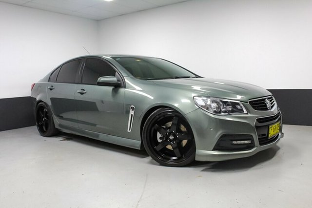 Used Holden Commodore VF MY15 SS, 2015 Holden Commodore VF MY15 SS Grey 6 Speed Manual Sedan