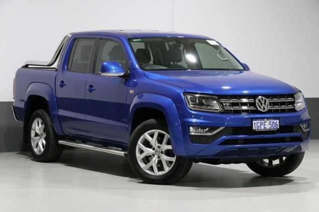 Used Volkswagen Amarok 2H MY17 V6 TDI 550 Ultimate, 2017 Volkswagen Amarok 2H MY17 V6 TDI 550 Ultimate Blue 8 Speed Automatic Dual Cab Utility