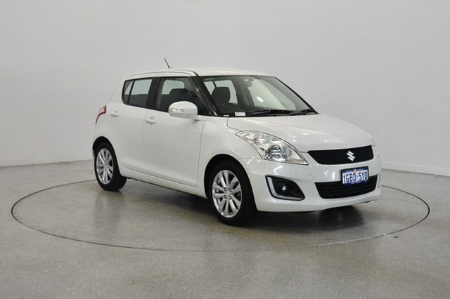 Used Suzuki Swift FZ MY15 GL Navigator, 2016 Suzuki Swift FZ MY15 GL Navigator White 4 Speed Automatic Hatchback