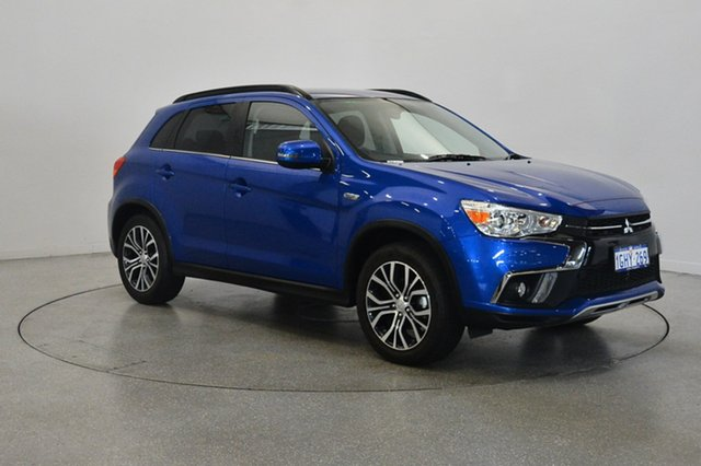 Used Mitsubishi ASX XC MY18 LS 2WD, 2018 Mitsubishi ASX XC MY18 LS 2WD Lightning Blue 6 Speed Constant Variable Wagon