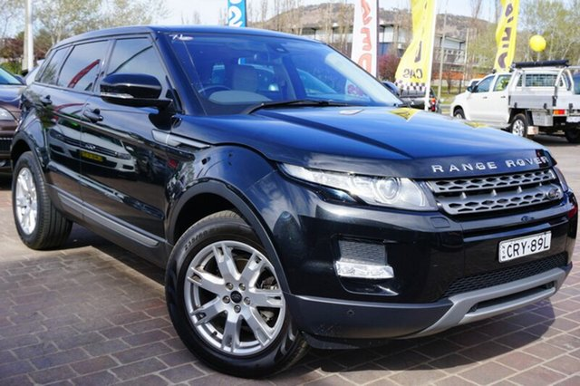 Used Land Rover Range Rover Evoque L538 MY14 TD4 Pure, 2014 Land Rover Range Rover Evoque L538 MY14 TD4 Pure Black 9 Speed Sports Automatic Wagon