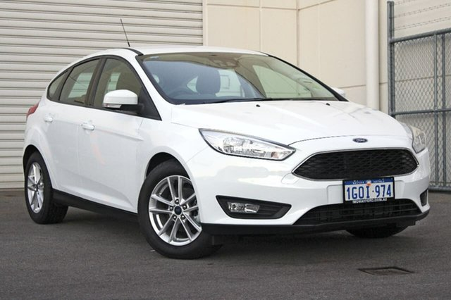 Demo Ford Focus LZ Trend, 2018 Ford Focus LZ Trend White 6 Speed Automatic Hatchback