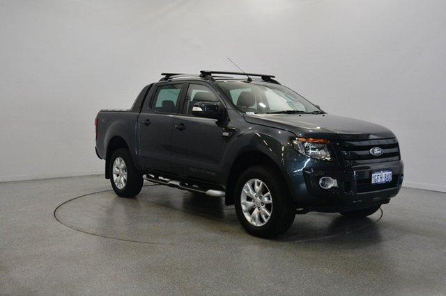Used Ford Ranger PX Wildtrak Double Cab, 2015 Ford Ranger PX Wildtrak Double Cab Grey 6 Speed Sports Automatic Utility