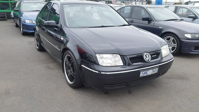 Used Volkswagen Bora 1J MY2002 V5, 2002 Volkswagen Bora 1J MY2002 V5 Black 5 Speed Manual Sedan