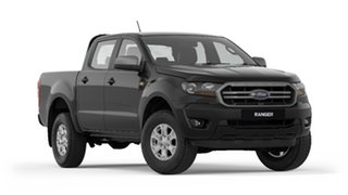 2019 Ford Ranger PX MkIII 2019.75MY XLS Pick-up Double Cab Black 6 Speed Sports Automatic Utility