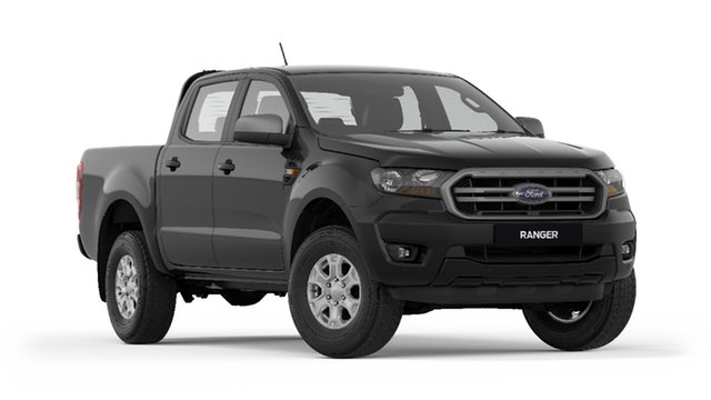 New Ford Ranger PX MkIII 2019.75MY XLS Pick-up Double Cab, 2019 Ford Ranger PX MkIII 2019.75MY XLS Pick-up Double Cab Shadow Black 6 Speed Sports Automatic