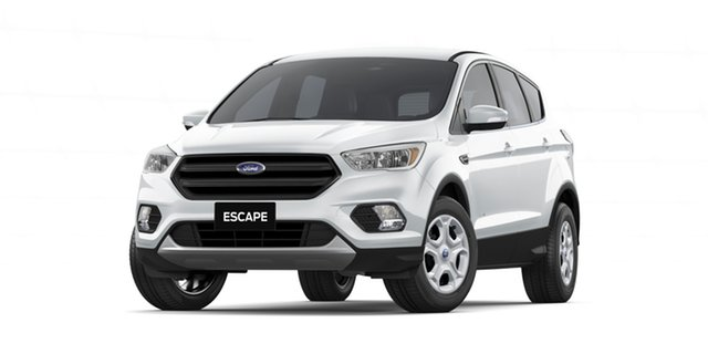 New Ford Escape ZG 2018.00MY Ambiente 2WD, 2018 Ford Escape ZG 2018.00MY Ambiente 2WD Frozen White 6 Speed Manual Wagon