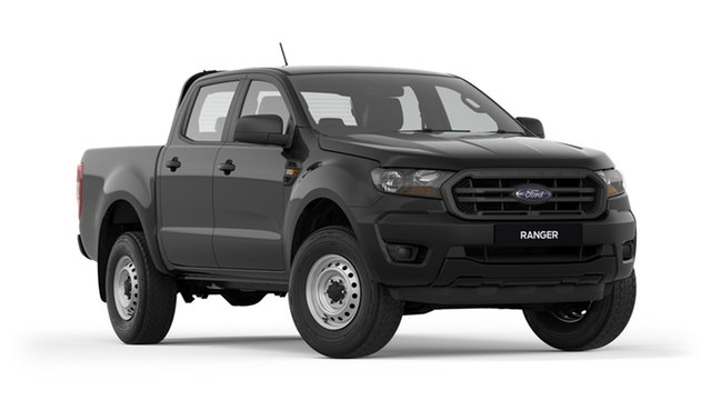 New Ford Ranger PX MkIII 2019.75MY XL Pick-up Double Cab 4x2 Hi-Rider, 2019 Ford Ranger PX MkIII 2019.75MY XL Pick-up Double Cab 4x2 Hi-Rider Black 6 Speed