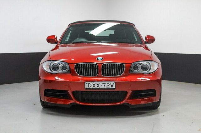 Used BMW 135i E88 MY10 Steptronic, 2009 BMW 135i E88 MY10 Steptronic Red 6 Speed Automatic Convertible