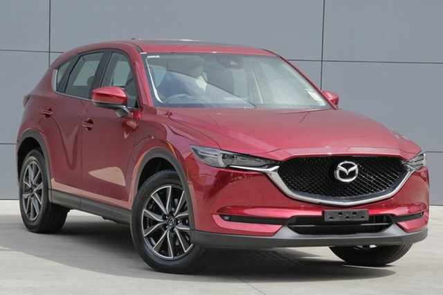 New Mazda CX-5 KF4W2A GT SKYACTIV-Drive i-ACTIV AWD, 2018 Mazda CX-5 KF4W2A GT SKYACTIV-Drive i-ACTIV AWD Soul Red Crystal 6 Speed Sports Automatic Wagon
