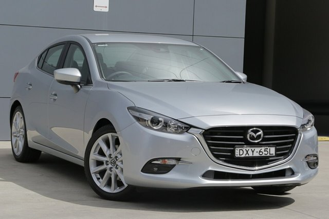 Used Mazda 3 BN5238 SP25 SKYACTIV-Drive, 2018 Mazda 3 BN5238 SP25 SKYACTIV-Drive Sonic Silver 6 Speed Sports Automatic Sedan