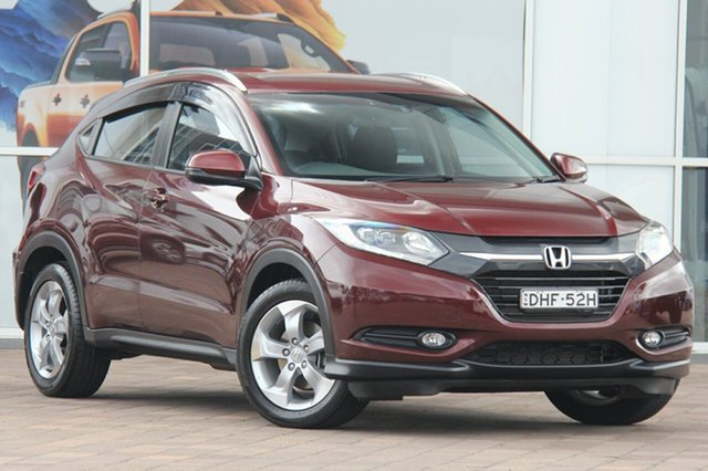 Used Honda HR-V MY16 VTi-S, 2016 Honda HR-V MY16 VTi-S Carnelian Red 1 Speed Constant Variable SUV