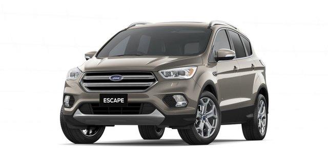 New Ford Escape ZG 2018.75MY Titanium AWD, 2018 Ford Escape ZG 2018.75MY Titanium AWD Diffused Silver 6 Speed Sports Automatic Wagon
