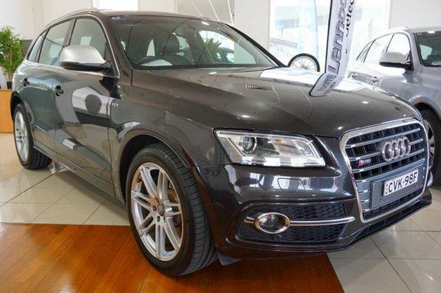 Used Audi SQ5 8R MY13 TDI Tiptronic Quattro, 2013 Audi SQ5 8R MY13 TDI Tiptronic Quattro Grey 8 Speed Sports Automatic Wagon