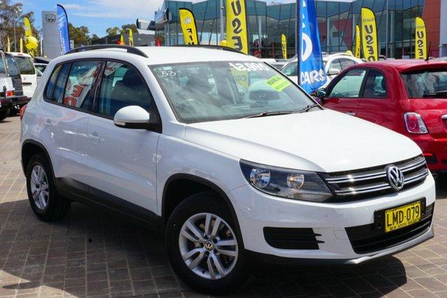 Used Volkswagen Tiguan 5N MY14 118TSI 2WD, 2014 Volkswagen Tiguan 5N MY14 118TSI 2WD White 6 Speed Manual Wagon