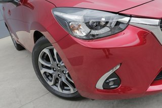 2018 Mazda 2 DL2SAA GT SKYACTIV-Drive Soul Red 6 Speed Sports Automatic Sedan.