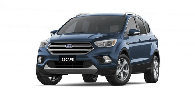 New Ford Escape ZG 2019.25MY Trend 2WD, 2019 Ford Escape ZG 2019.25MY Trend 2WD Blue Metallic 6 Speed Sports Automatic Wagon