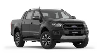 2019 Ford Ranger PX MkIII 2019.75MY Wildtrak Pick-up Double Cab Black 10 Speed Sports Automatic.