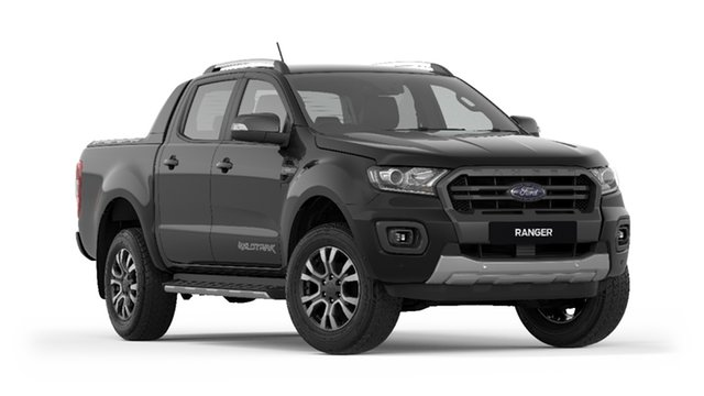 New Ford Ranger  Wildtrak Pick-up Double Cab, 2019 Ford Ranger PX MKIII 2019.7 Wildtrak Pick-up Double Cab Shadow Black 10 Speed Sports Automatic