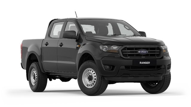 New Ford Ranger PX MkIII 2020.25MY XL Pick-up Double Cab, 2020 Ford Ranger PX MkIII 2020.25MY XL Pick-up Double Cab Shadow Black 6 Speed Sports Automatic