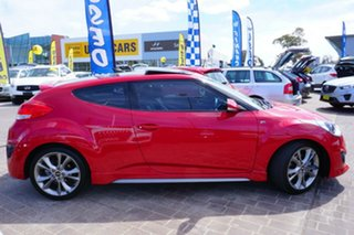 2016 Hyundai Veloster FS4 Series II SR Coupe D-CT Turbo + Red 7 Speed Sports Automatic Dual Clutch