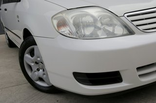 2007 Toyota Corolla ZZE122R 5Y Ascent White 4 Speed Automatic Sedan.