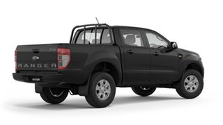2019 Ford Ranger PX MkIII 2019.75MY XLS Pick-up Double Cab Black 6 Speed Sports Automatic Utility.