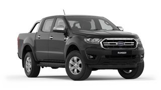 2020 Ford Ranger PX MkIII 2021.25MY XLT Pick-up Double Cab Shadow Black 10 Speed Sports Automatic