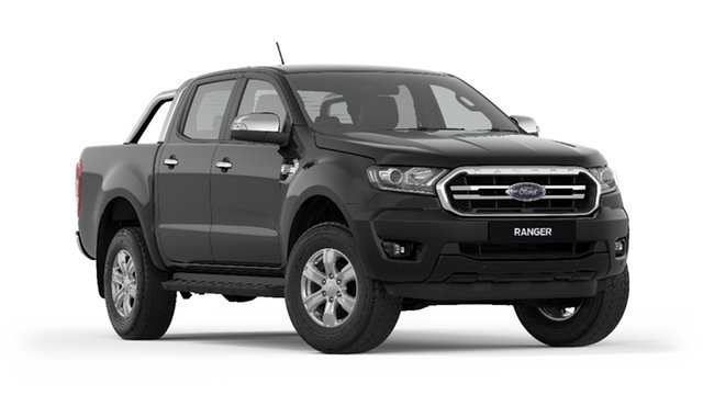 New Ford Ranger PX MkIII 2019.00MY XLT Pick-up Double Cab, 2018 Ford Ranger PX MkIII 2019.00MY XLT Pick-up Double Cab Shadow Black 6 Speed Sports Automatic