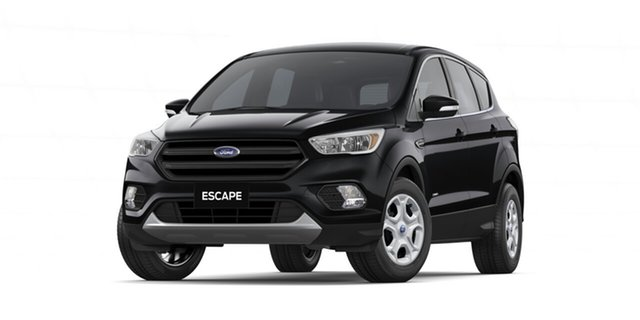 New Ford Escape ZG 2018.75MY Ambiente 2WD, 2018 Ford Escape ZG 2018.75MY Ambiente 2WD Shadow Black 6 Speed Sports Automatic Wagon