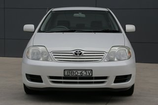 2007 Toyota Corolla ZZE122R 5Y Ascent White 4 Speed Automatic Sedan