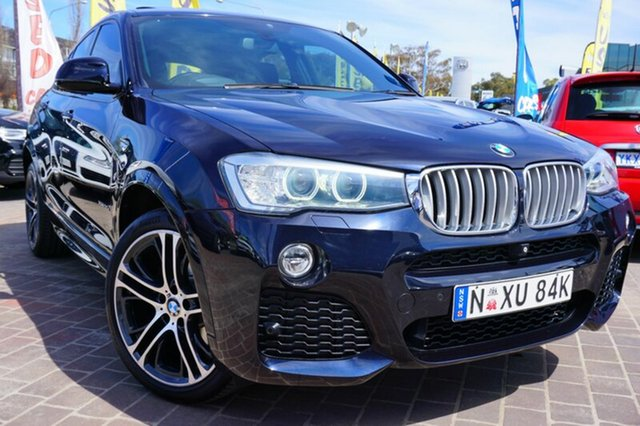 Used BMW X4 F26 xDrive30d Steptronic, 2014 BMW X4 F26 xDrive30d Steptronic Carbon Black Metallic 8 Speed Automatic Wagon