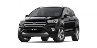 2019 Ford Escape ZG 2019.25MY Trend PwrShift AWD Black 6 Speed Sports Automatic Dual Clutch Wagon.