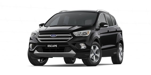 New Ford Escape ZG 2019.75MY Trend Ebbw Vale, 2019 Ford Escape ZG 2019.75MY Trend Black 6 Speed Sports Automatic Dual Clutch SUV