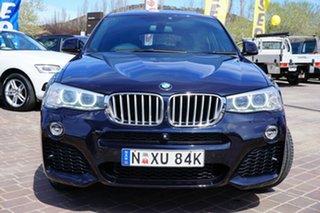 2014 BMW X4 F26 xDrive30d Steptronic Carbon Black Metallic 8 Speed Automatic Wagon.