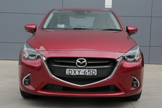 2018 Mazda 2 DL2SAA GT SKYACTIV-Drive Soul Red 6 Speed Sports Automatic Sedan