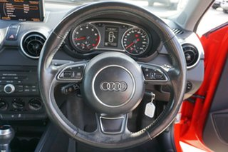 2011 Audi A1 8X MY11 Ambition S tronic Red 7 Speed Sports Automatic Dual Clutch Hatchback