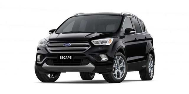 New Ford Escape ZG 2019.75MY Titanium AWD, 2019 Ford Escape ZG 2019.75MY Titanium AWD Shadow Black 6 Speed Sports Automatic Wagon