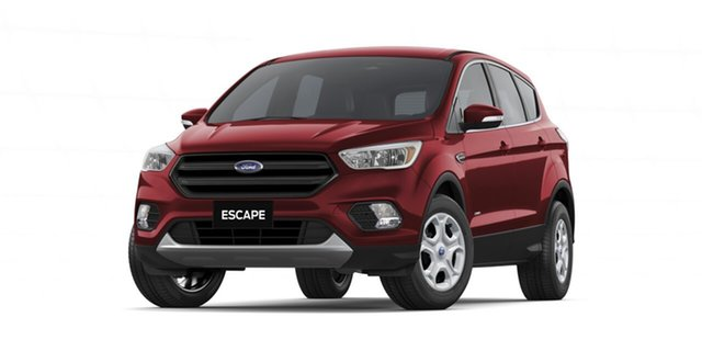 New Ford Escape ZG 2018.75MY Ambiente 2WD, 2018 Ford Escape ZG 2018.75MY Ambiente 2WD Ruby Red 6 Speed Sports Automatic Wagon