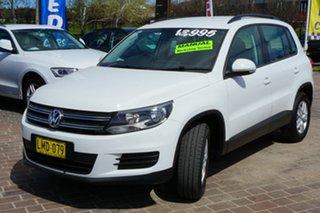 2014 Volkswagen Tiguan 5N MY14 118TSI 2WD White 6 Speed Manual Wagon.