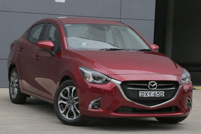Used Mazda 2 DL2SAA GT SKYACTIV-Drive, 2018 Mazda 2 DL2SAA GT SKYACTIV-Drive Soul Red 6 Speed Sports Automatic Sedan