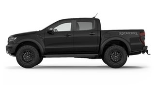2019 Ford Ranger PX MkIII 2019.00MY Raptor Pick-up Double Cab Shadow Black 10 Speed Sports Automatic