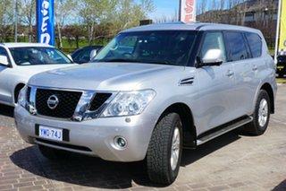 2013 Nissan Patrol Y62 TI-L Silver 7 Speed Sports Automatic Wagon.