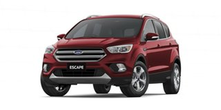 2019 Ford Escape ZG 2019.25MY Trend PwrShift AWD Red 6 Speed Sports Automatic Dual Clutch Wagon