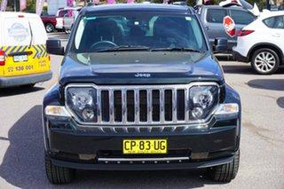 2012 Jeep Cherokee KK MY12 JET Green 4 Speed Automatic Wagon.