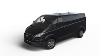2018 Ford Transit Custom VN 2018.75MY 340L Low Roof LWB Shadow Black 6 Speed Automatic Van.