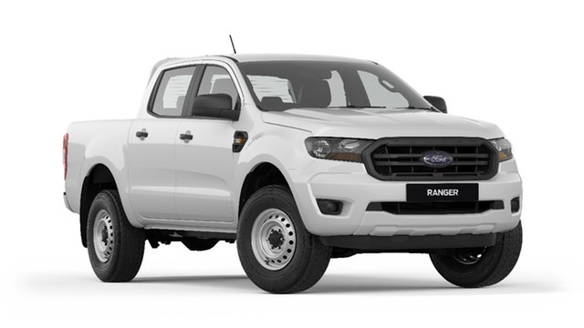 New Ford Ranger PX MkIII 2019.00MY XL Pick-up Double Cab, 2019 Ford Ranger PX MkIII 2019.00MY XL Pick-up Double Cab Arctic White 6 Speed Sports Automatic