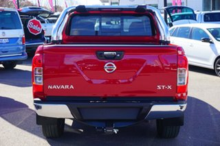2018 Nissan Navara D23 S3 ST-X Red 7 Speed Sports Automatic Utility