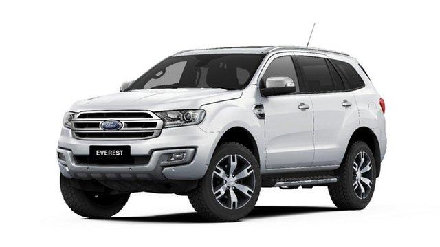 New Ford Everest UA 2018.00MY Titanium, 2018 Ford Everest UA 2018.00MY Titanium Arctic White 6 Speed Sports Automatic SUV