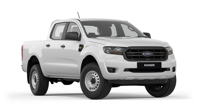 New Ford Ranger PX MkIII 2019.00MY XL Pick-up Double Cab 4x2 Hi-Rider, 2018 Ford Ranger PX MkIII 2019.00MY XL Pick-up Double Cab 4x2 Hi-Rider Frozen White 6 Speed